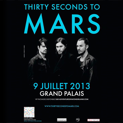 GROUPE 30 SECONDS TO MARS