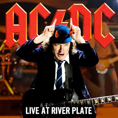 AC/DC POCHETTE CD/DVD LIVE AT RIVER PLATE