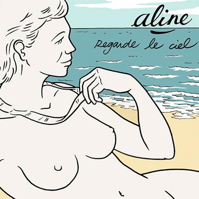ALINE POCHETTE NOUVEL ALBUM REGARDE LE CIEL