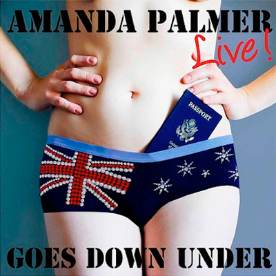 AMANDA PALMER POCHETTE GOES DOWN UNDER