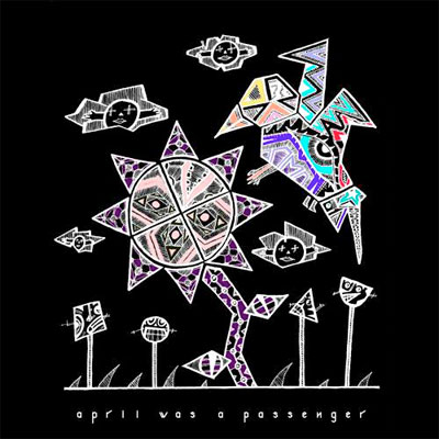 APRIL WAS A PASSENGER POCHETTE NOUVEAU SINGLE GO