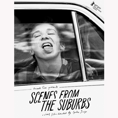 ARCADE SCENE FROM THE SUBURBS AFFICHE