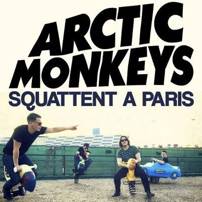 ARCTIC MONKEYS  AFFICHE CONCERTS PARIS 2012