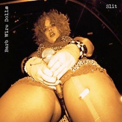 BARB WIRE DOLLS POCHETTE PREMIER ALBUM SLIT