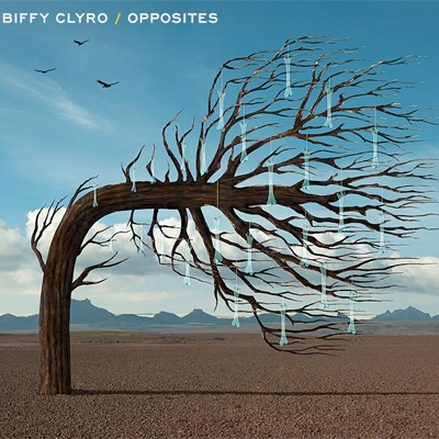 BIFFY CLYRO POCHETTE NOUVEL ALBUM OPPOSITES