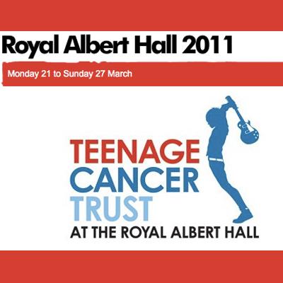 TEENAGE CANCER TRUST 2011