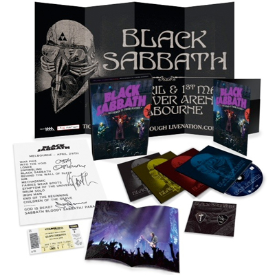 BLACK SABBATH : NOUVEAU DVD LIVE GATHERED IN THEIR MASSES EN NOVEMBRE