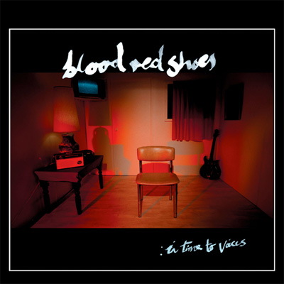 BLOOD RED SHOES POCHETTE IN TIME TO VOICES