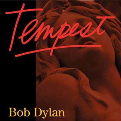 BOB DYLAN POCHETTE NOUVEL ALBUM TEMPEST