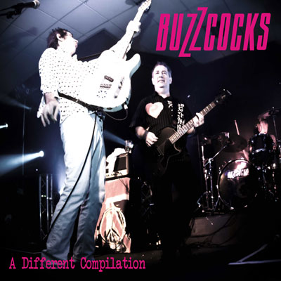 BUZZCOCKS POCHETTE A DIFFERENT COMPILATION