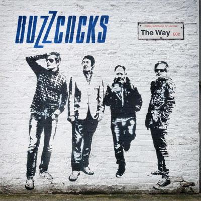 BUZZCOCKS POCHETTE NOUVEL ALBUM THE WAY