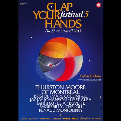 FLYER FESTIVAL CLAP YOUR HANDS 2015