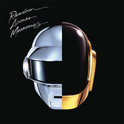 DAFT PUNK POCHETTE NOUVEL ALBUM RANDOM ACCESS MEMORIES