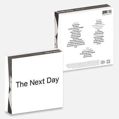 DAVID BOWIE POCHETTE ALBUM THE NEXT DAY EXTRA
