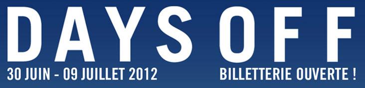 DAYS OFF 2012 : ST. VINCENT, SUFJAN STEVENS, KURT VILE ET AGNES OBEL S'AJOUTENT A LA PROGRAMMATION