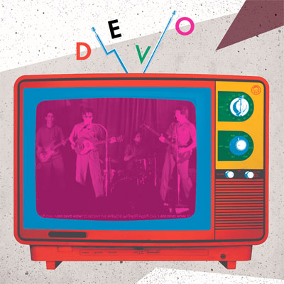DEVO POCHETTE ALBUM LIVE MIRACLE WITNESS HOUR