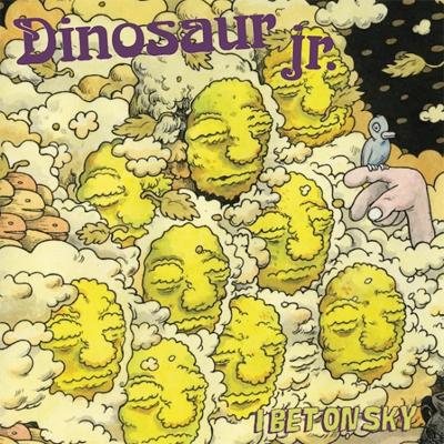 DINOSAUR JR. POCHETTE NOUVEL ALBUM I BET ON SKY