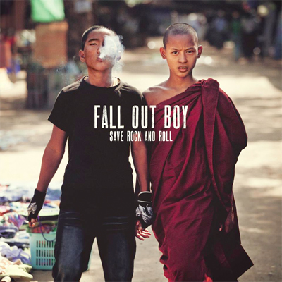 FALL OUT BOY POCHETTE NOUVEL ALBUM SAVE ROCK AND ROLL