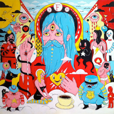 FATHER JOHN MISTY POCHETTE FEAR FUN