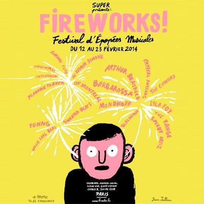 AFFICHE FESTIVAL FIREWORKS! 2014
