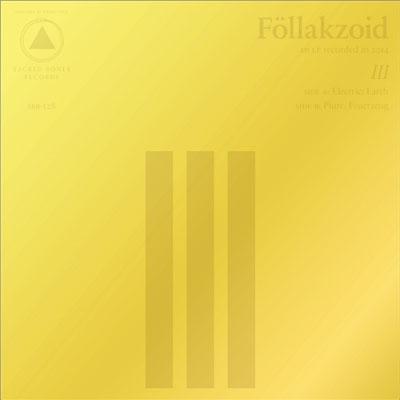 FÖLLAKZOID POCHETTE NOUVEL ALBUM III