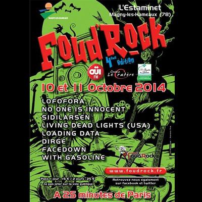 FLYER FESTIVAL FOUD'ROCK 2014