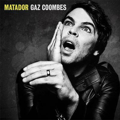 GAZ COOMBES POCHETTE NOUVEL ALBUM MATADOR