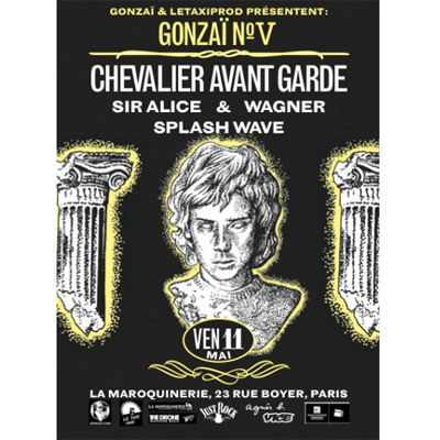 FLYER SOIREE GONZAÏ V