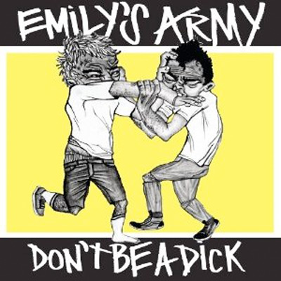 EMILY'S ARMY DON'T BE A DICK POCHETTE