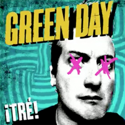 GREEN DAY POCHETTE NOUVEL ALBUM ¡TRE!