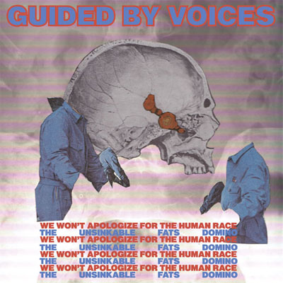 GUIDED BY VOICES THE UNSINKABLE FATS DOMINO POCHETTE