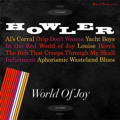HOWLER POCHETTE NOUVEL ALBUM WORLD OF JOY