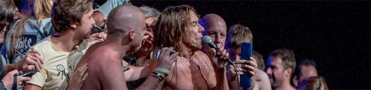 IGGY AND THE STOOGES @ SYDNEY 2013 : LE CONCERT EN INTEGRALITE