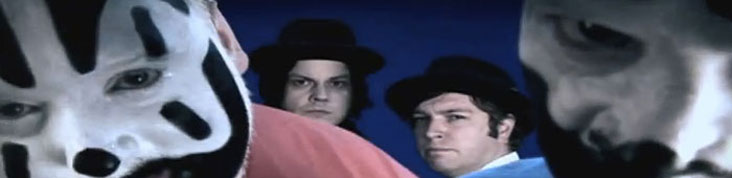 JACK WHITE REVISITE MOZART AVEC INSANE CLOWN POSSEE