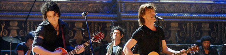 JACK WHITE & KEITH RICHARDS : UNE COLLABORATION QUI VAUT DE L'OR