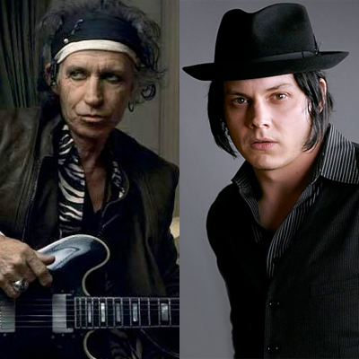JACK WHITE & KEITH RICHARDS