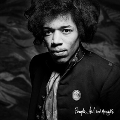 POCHETTE JIMI HENDRIX NOUVEL ALBUM PEOPLE, HELL AND ANGELS