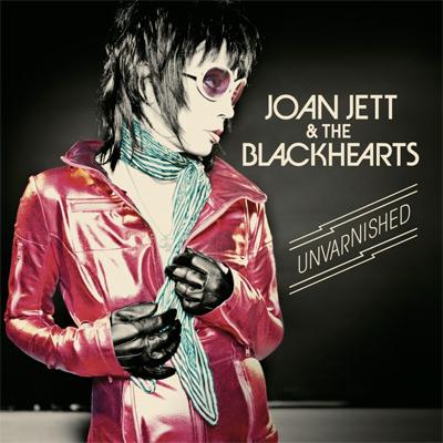 JOAN JETT & THE BLACKHEARTS POCHETTE NOUVEL ALBUM UNVARNISHED
