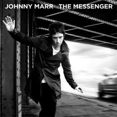 JOHNNY MARR POCHETTE PREMIER ALBUM SOLO THE MESSENGER