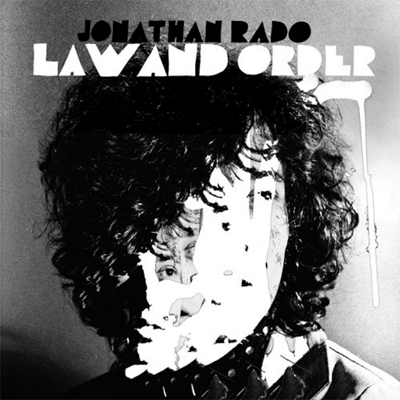JONATHAN RADO (FOXYGEN) POCHETTE PREMIER ALBUM SOLO LAW AND ORDER