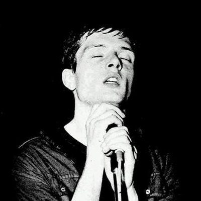 JOY DIVISION PORTRAIT IAN CURTIS