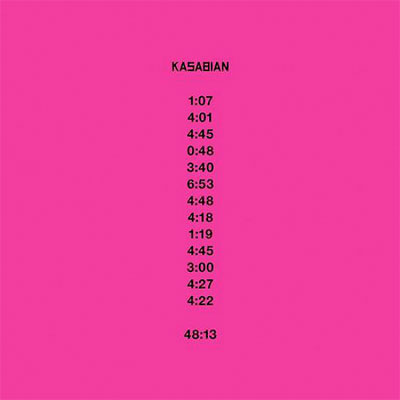 KASABIAN POCHETTE NOUVEL ALBUM 48:13