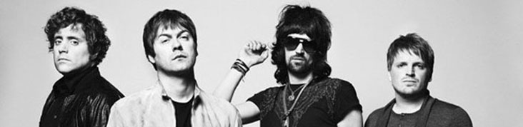 KASABIAN ENROLE THE SUBWAYS POUR SA PREMIERE PARTIE AU ZENITH DE PARIS