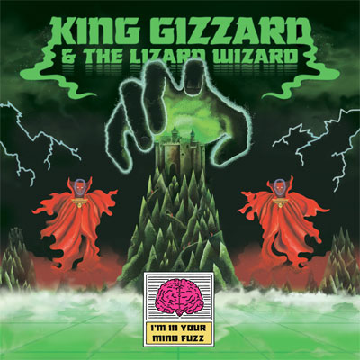 KING GIZZARD & THE LIZARD WIZARD POCHETTE NOUVEL ALBUM I'M IN YOUR MIND FUZZ