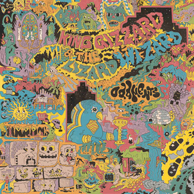 KING GIZZARD & THE LIZARD WIZARD POCHETTE NOUVEL ALBUM ODDMENTS