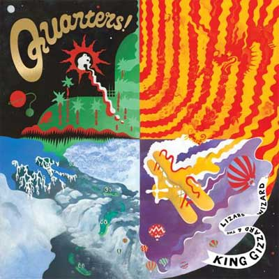 KING GIZZARD & THE LIZARD WIZARD  POCHETTE NOUVEL ALBUM QUARTERSI