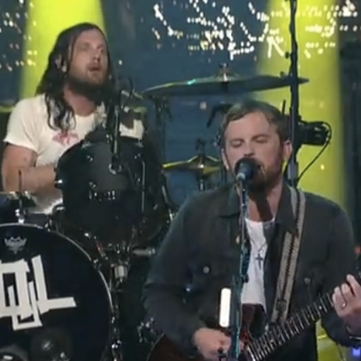 KINGS OF LEON LIVE ON LETTERMAN 2013