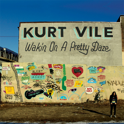 KURT VILE POCHETTE NOUVEL ALBUM WAKIN ON A PRETTY DAZE