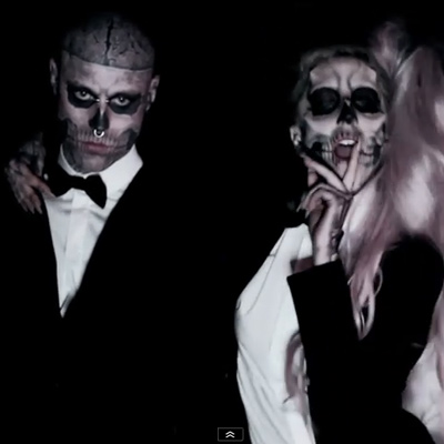 LADY GAGA SHOOT BORN THIS WAY