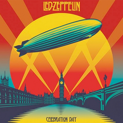 LED ZEPPELIN POCHETTE CD/DVD LIVE CELEBRATION DAY